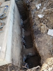 helical piles to repair foundation
